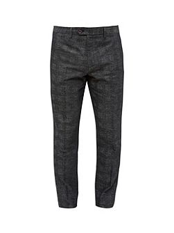 Rectro Checked Trousers