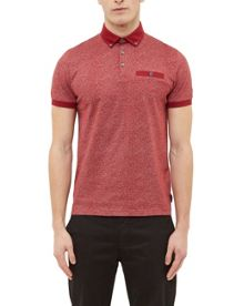 Ted Baker Teller Mouliné cotton polo shirt