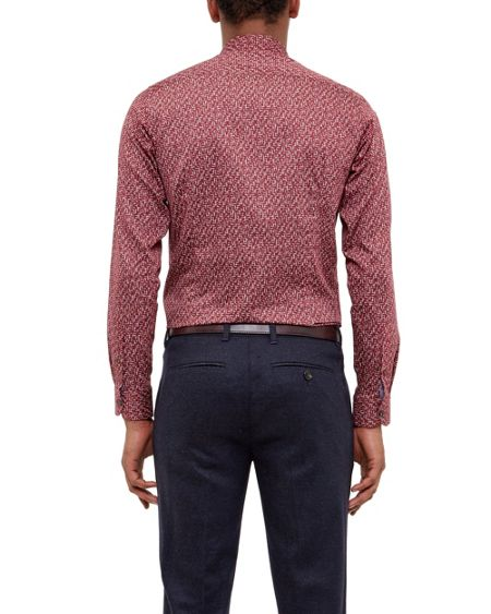 Ted Baker Squigle Squiggle design cotton shirt