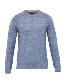 Ted Baker Debut Textured crew neck jumper