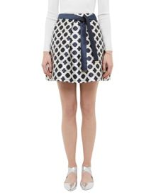 Ted Baker Bonnee Blushing Bouquet geo mini skirt