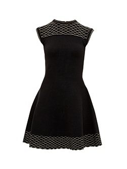 Tessai Knitted Sparkle Skater Dress