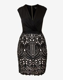 Ted Baker Emara Lace wrap skirt