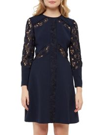 Ted Baker Zerina Lace panel dress