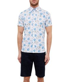 Ted Baker Jorge Floral Cotton Shirt