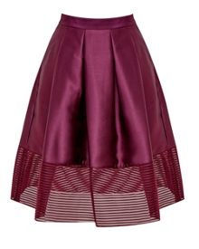 Ted Baker Jurisa Mesh panel full skirt