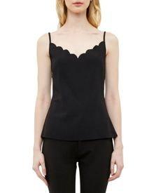 Ted Baker Siina Scallop Neckline Top