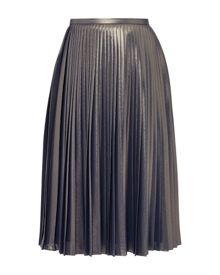 Ted Baker Zainea Metallic pleated skirt