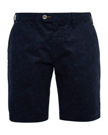 Ted Baker Oldsho Floral Chino Oxford Shorts