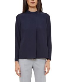 Ted Baker Glitaa Front ruffle top