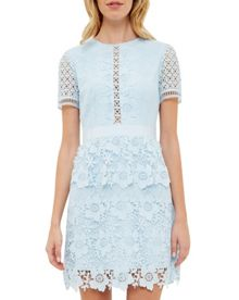 Ted Baker Dixa Layered Lace Skater Dress