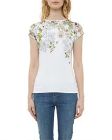 Ted Baker Veeni Gem Gardens fitted T-shirt