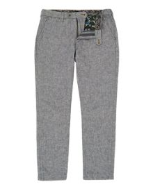 Ted Baker Olden Linen-Blend Slim Fit Trousers