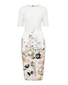 Ted Baker Layli Gem Gardens bodycon dress
