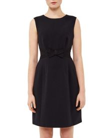 Ted Baker Jackye Embellished back tulip dress