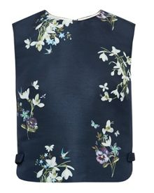 Ted Baker Samsa Entangled Enchantment cropped top