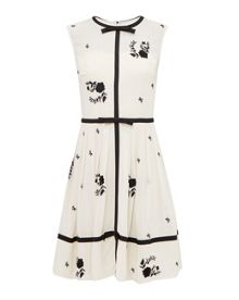 Ted Baker Iivy Bow Detail A Line Dress