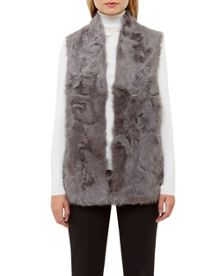 Ted Baker Nikky Shearling fur gilet