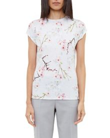 Ted Baker Millis Oriental Bloom fitted T-shirt