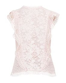 Ted Baker Zania Ruffle Lace Top