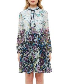 Ted Baker Meelia Entangled Enchantment long sleeved dress