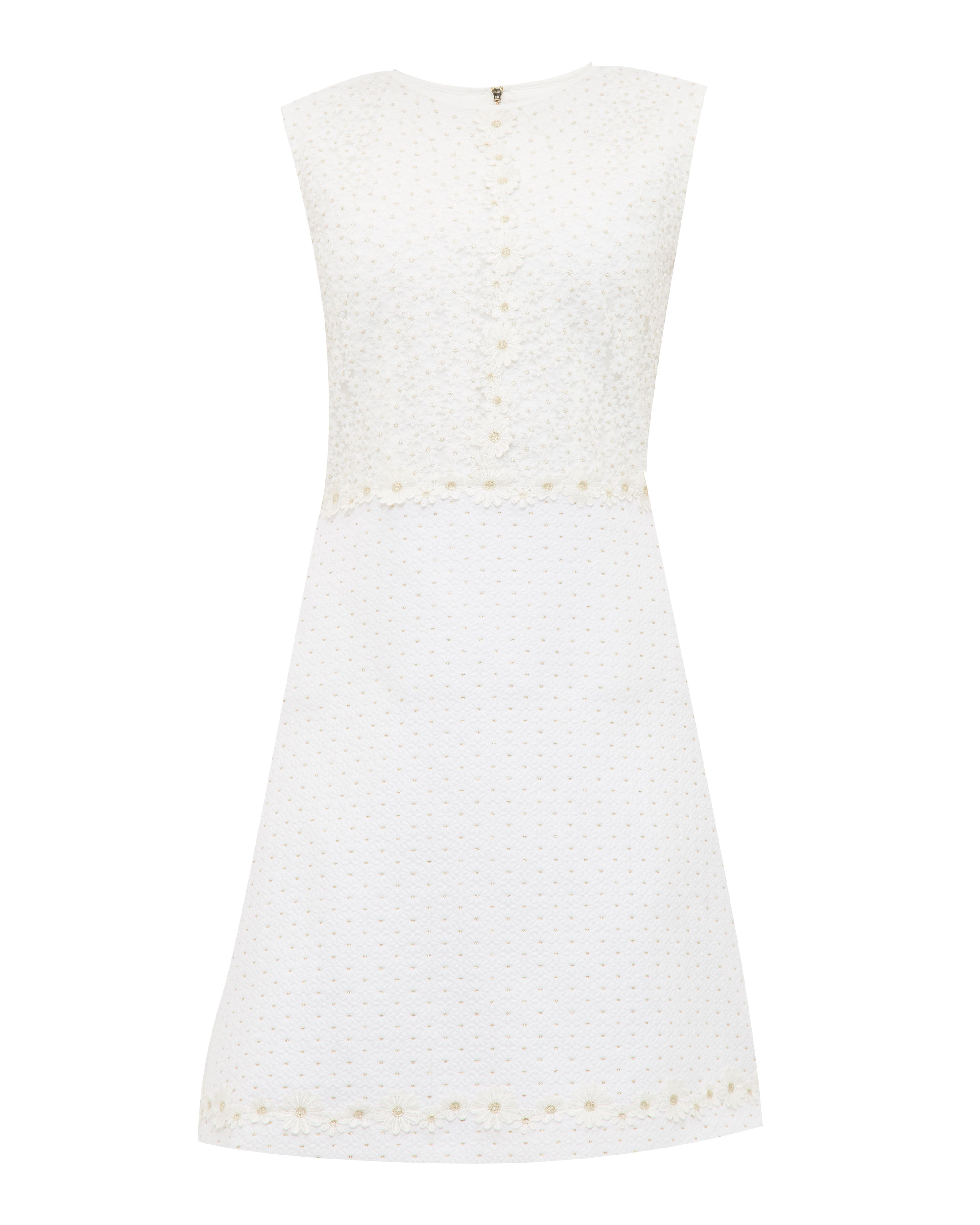 Ted Baker Olara Daisy Lace Shift Dress, White