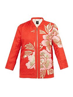 Herrne Regal Romance Bomber Jacket