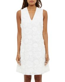 Ted Baker Soniah Applique lace V-neck dress