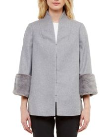 Ted Baker Rilly Cashmere and wool-blend coat