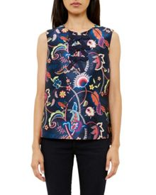 Ted Baker Ozah Folk Foliage Top