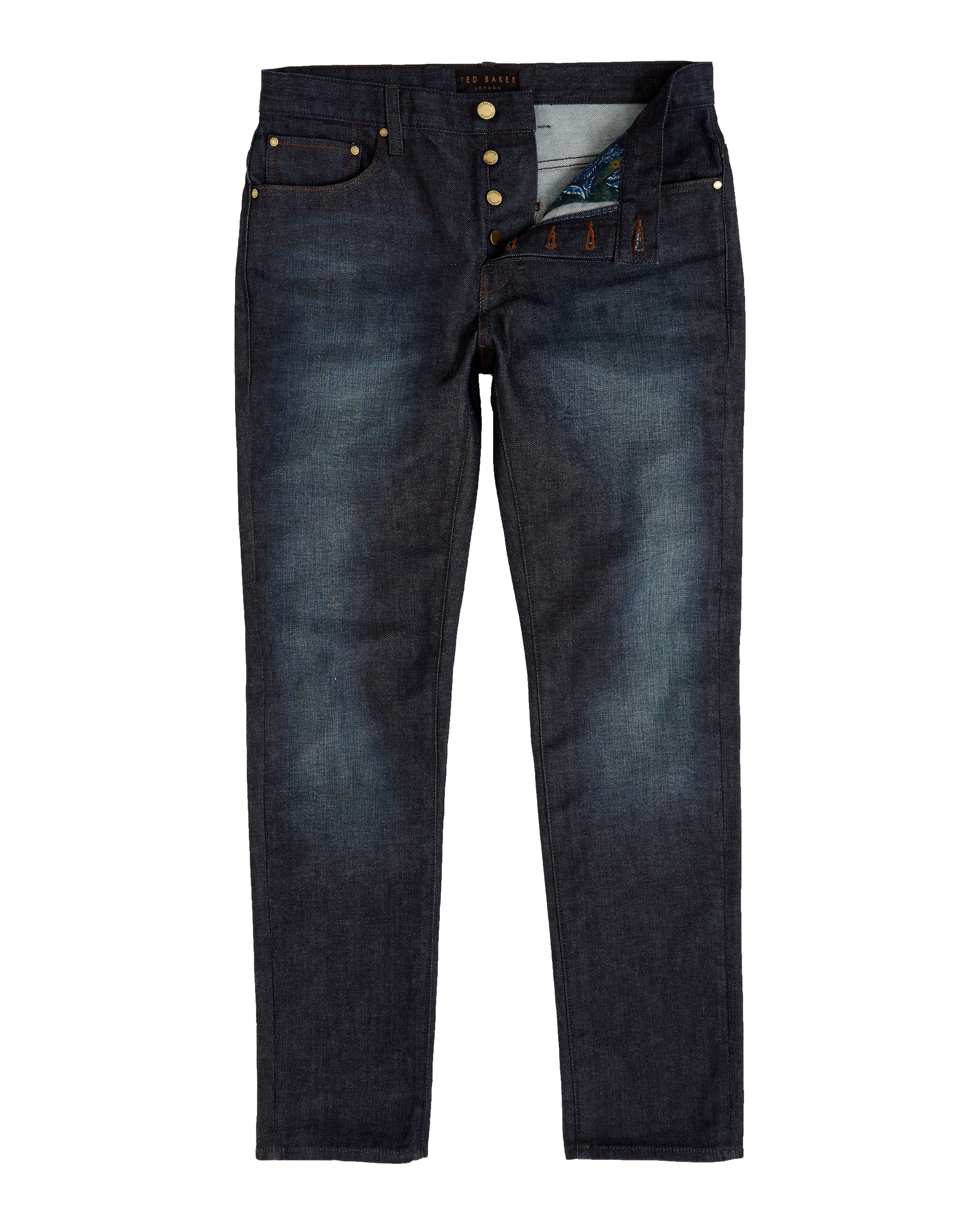 Mens Ted Baker Sulph Straight fit jeans Blue
