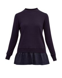 Ted Baker Yaline Pleated hem jumper