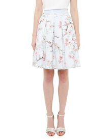 Ted Baker Tillye Oriental Blossom pleated skirt