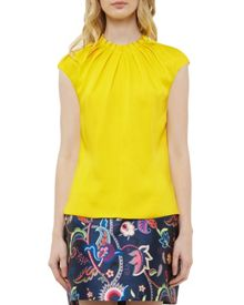 Ted Baker Reela Pleated high neck top