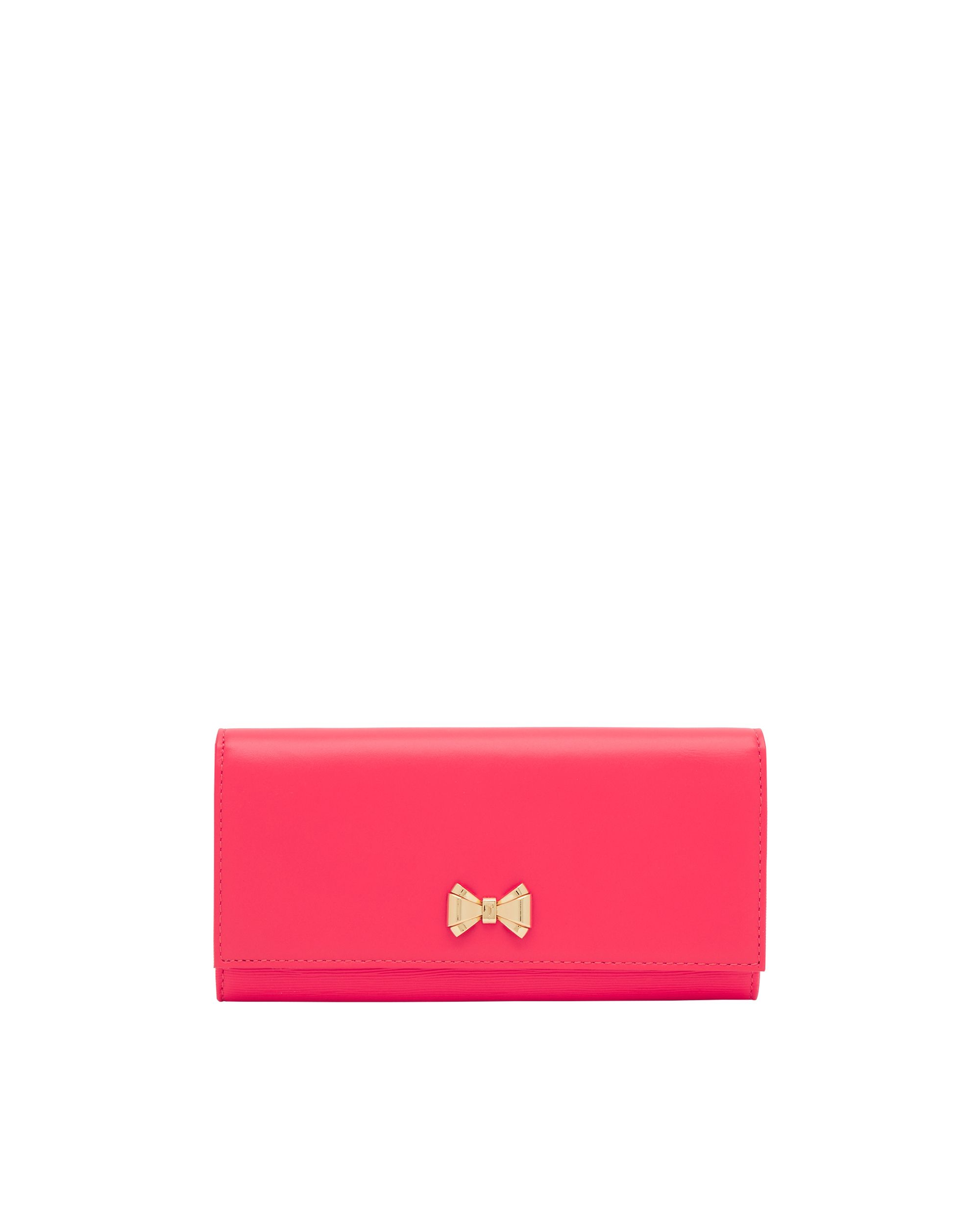 Ted Baker Terissa Mini Bow Leather Purse Pink