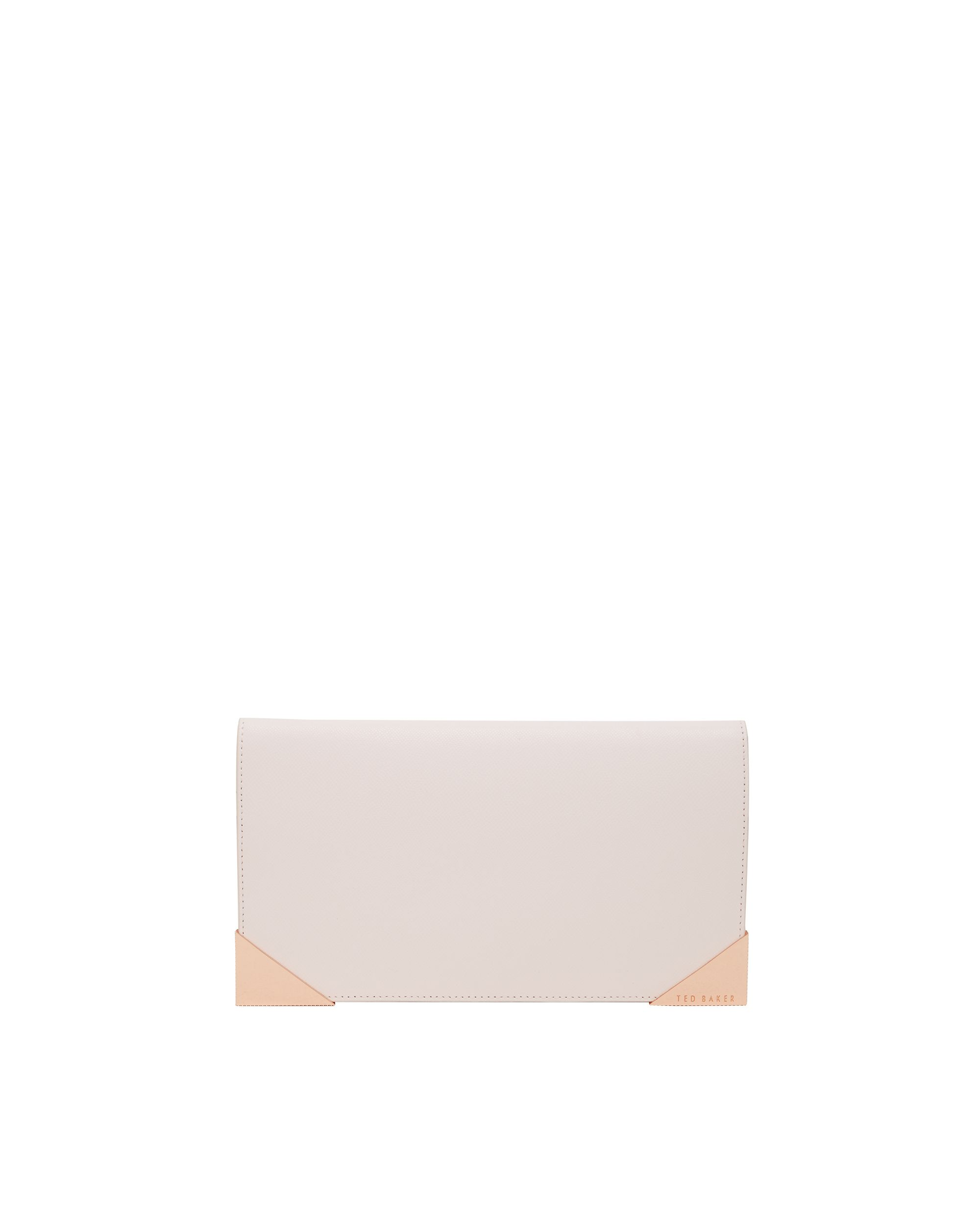 Ted Baker Curt Leather purse set Pastel Pink