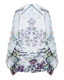 Ted Baker Elva Entangled Enchantment Silk Cape Scarf