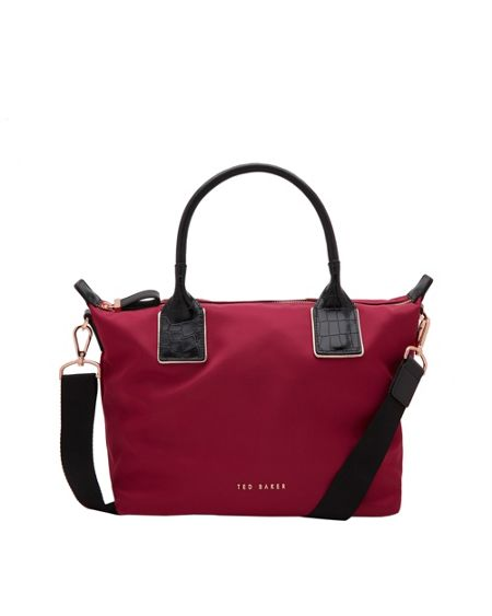 Ted Baker Aviaa Leather Trim Small Tote Bag