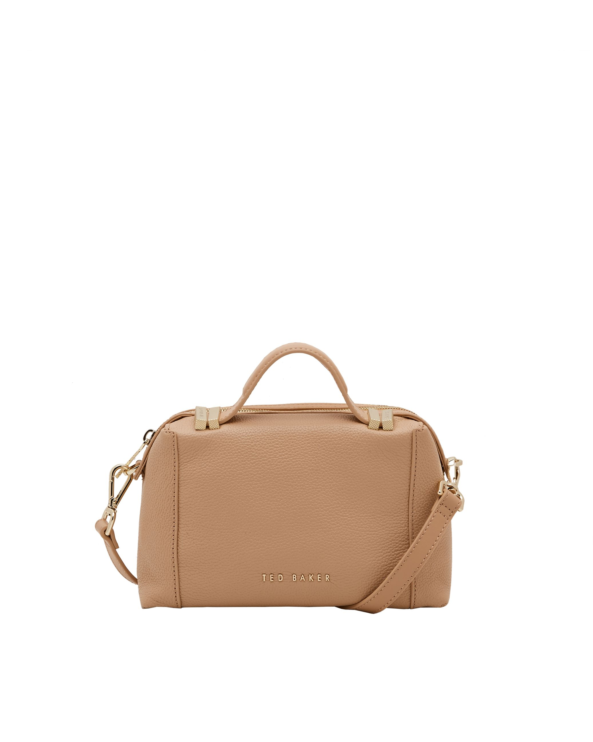 Ted Baker Albett Leather small tote bag Brown