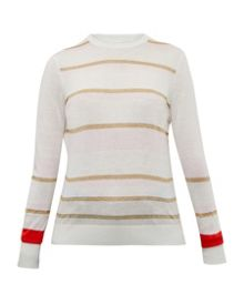 Ted Baker Charlis Metallic striped jumper