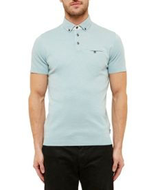 Ted Baker Frankiy Woven Polo Shirt