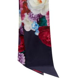 Ted Baker Blaisee Blushing Bouquet skinny scarf