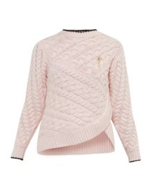Ted Baker Charo Asymmetric cable knit jumper