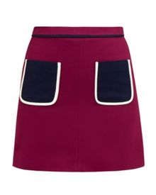 Ted Baker Naira Colour block pocket skirt