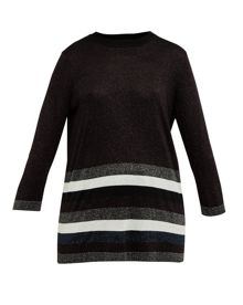Ted Baker Zatta Glitter striped jumper