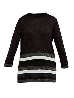Zatta Glitter striped jumper