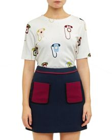 Ted Baker Koanna Telephone print top