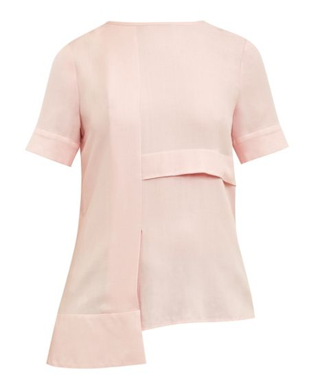 Ted Baker Izolda Panel detail asymmetric top