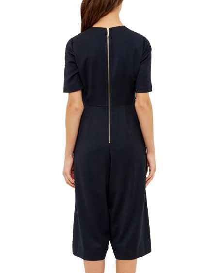 Ted Baker Eirene Cut-out cullote jumpsuit