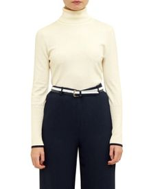 Ted Baker Aggi Ribbed roll neck jumper